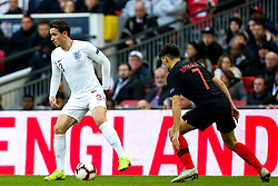 Ben Chilwell of England takes on Josip Brekalo of Croatia - Mandatory by-line: Robbie Stephenson/JMP - 18/11/2018 - FOOTBALL - Wembley Stadium - London, United Kingdom - England v Croatia - UEFA Nations League