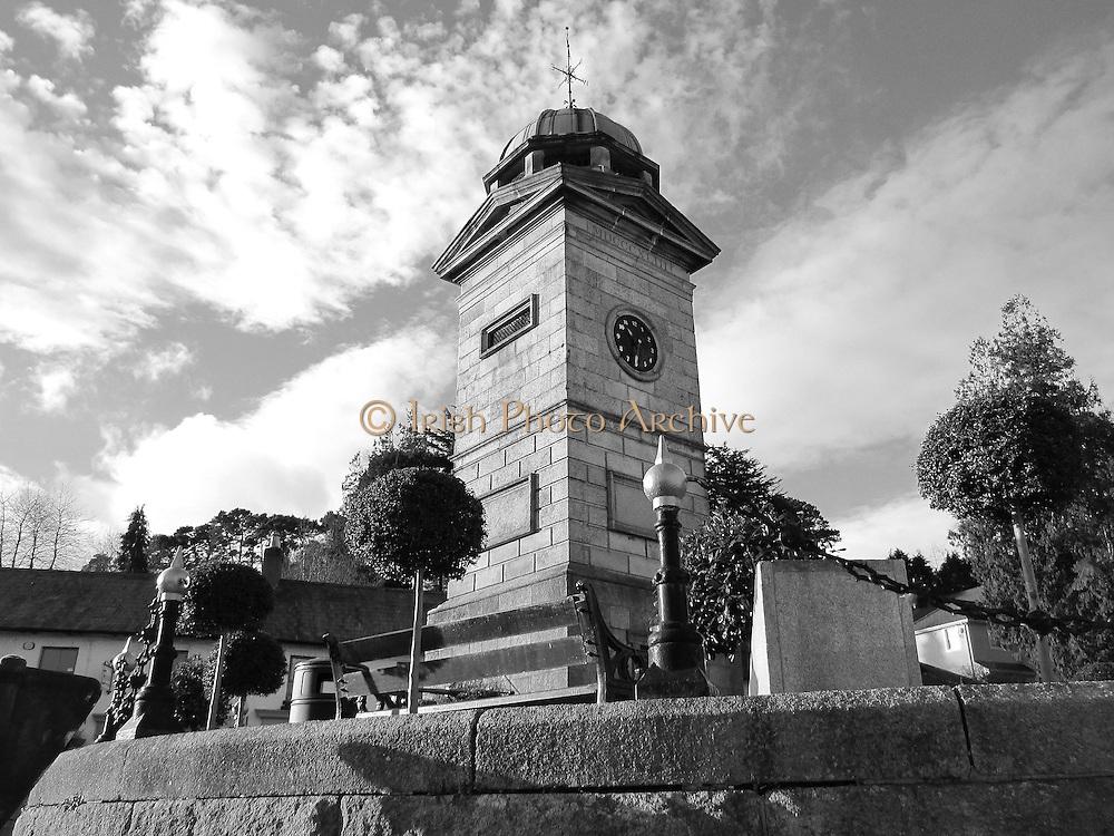 Enniskerry Clock Tower, Enniskerry, Wicklow, 1843,