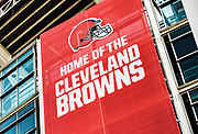 Home of the Brown, FirstEnergy Stadium, Cleveland, Ohio, USA.