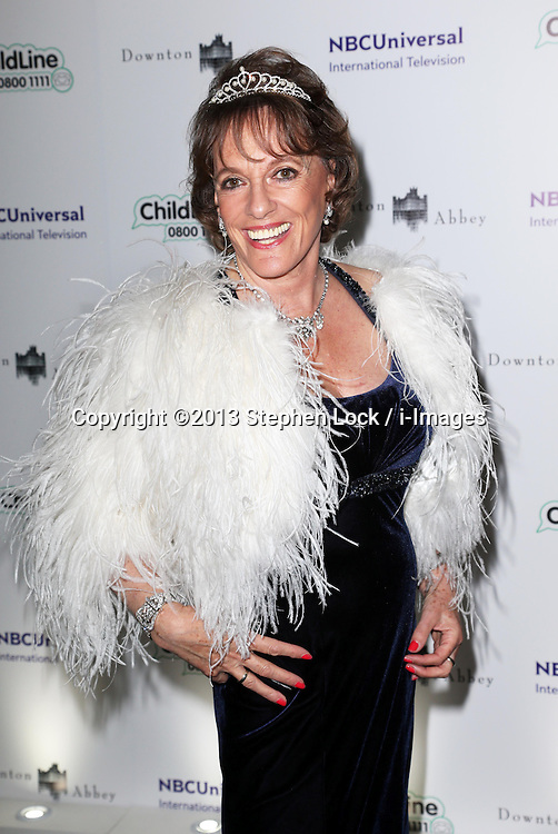 Esther Rantzen  arriving at the Downton Abbey ChildLine Ball in London, Thursday, 24th October 2013. Picture by Stephen Lock / i-Images