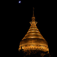 The Golden Dhammayazika Pagoda, Bagan, Myanmar, 2016