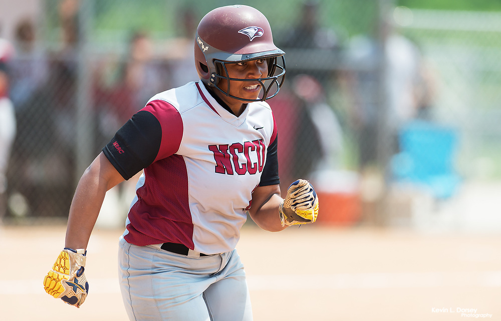2017 NC Central Softball vs A&T (DH) \ www.nccueaglepride.com - Photo by: Kevin L. Dorsey
