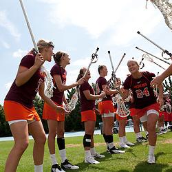 2012-04-01 Virginia Tech at North Carolina Tar Heels women's lacrosse