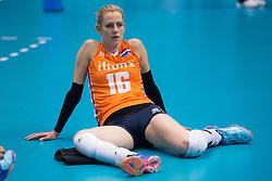 15-05-2016 JAP: OKT Nederland - Zuid Korea, Tokio<br /> Er is nog niets verloren, maar de volleybalsters van Oranje hebben tijdens het OKT een gevoelige 3-0 nederlaag geleden tegen Zuid-Korea / Debby Stam-Pilon #16