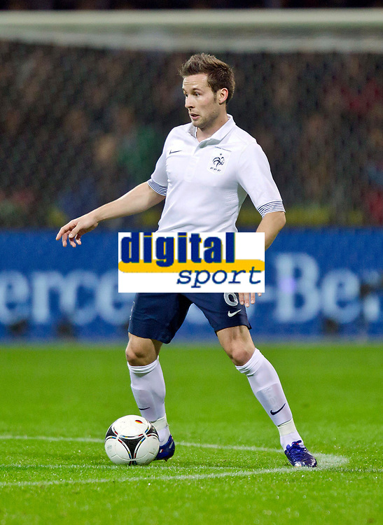 FOOTBALL - FRIENDLY GAME 2011/2012 - GERMANY v FRANCE  - 29/02/2012 - PHOTO DPPI - YOHAN CABAYE (FRA)