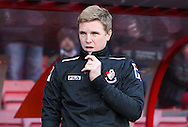 Picture by Tom Smith/Focus Images Ltd 07545141164<br /> 26/12/2013<br /> AFC Bournemouth Manager Eddie Howe during the Sky Bet Championship match at the Goldsands Stadium, Bournemouth.