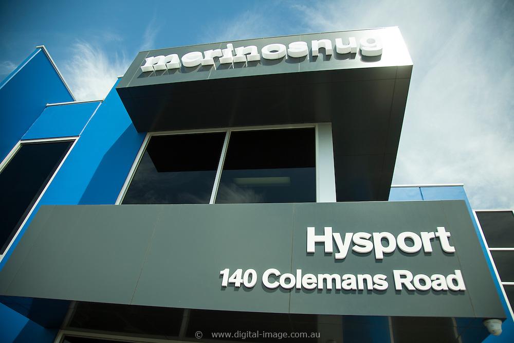 Australian Wool Network, Hysport, Merino Snug, Factory