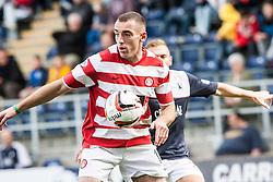 Hamilton's Darian Mackinnon.<br /> Falkirk 1 v 2 Hamilton, Scottish Championship 31/8/2013.<br /> &copy;Michael Schofield.