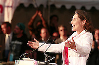 01 May 2007, Paris, France --- French Socialist presidential candidate Segolene Royal speaks at a campaign rally at the Charlety stadium in Paris. --- Image by © Owen Franken/Corbis