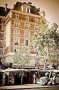Outdoor market, Boulevard Saint-Germain, Left Bank, Paris, France
