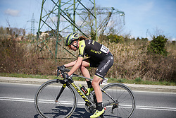 Annemiek van Vleuten (NED) solos to victory at Strade Bianche - Elite Women 2019, a 136 km road race starting and finishing in Siena, Italy on March 9, 2019. Photo by Sean Robinson/velofocus.com