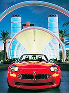 Automotive - BMW Z8 Bali's Las Vegas