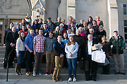 Approximately 40 arrived from Tioga County for the Chrism Mass at Sacred Heart Cathedral in Rochester on Tuesday, March 31, 2015.