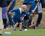 Prince George & Young Royals Playtime At Polo