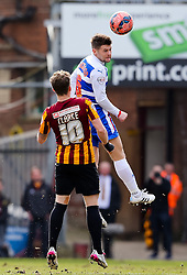 Bradford City's Billy Clarke and Reading's Oliver Norwood  - Photo mandatory by-line: Matt McNulty/JMP - Mobile: 07966 386802 - 07/03/2015 - SPORT - Football - Bradford - Valley Parade - Bradford City v Reading - FA Cup - Quarter Final