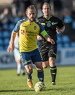 FODBOLD: Kasper Fisker (Brøndby IF) under kampen i Reserveligaen mellem Brøndby IF og FC Helsingør den 6. november 2017 på Brøndby Stadion, bane 2. Foto: Claus Birch