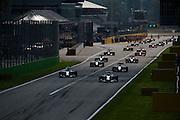 September 4-7, 2014 : Italian Formula One Grand Prix - Start of the italian grand prix