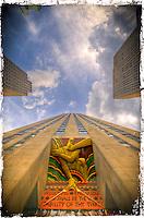 New-York City: Rockefeller Plaza.