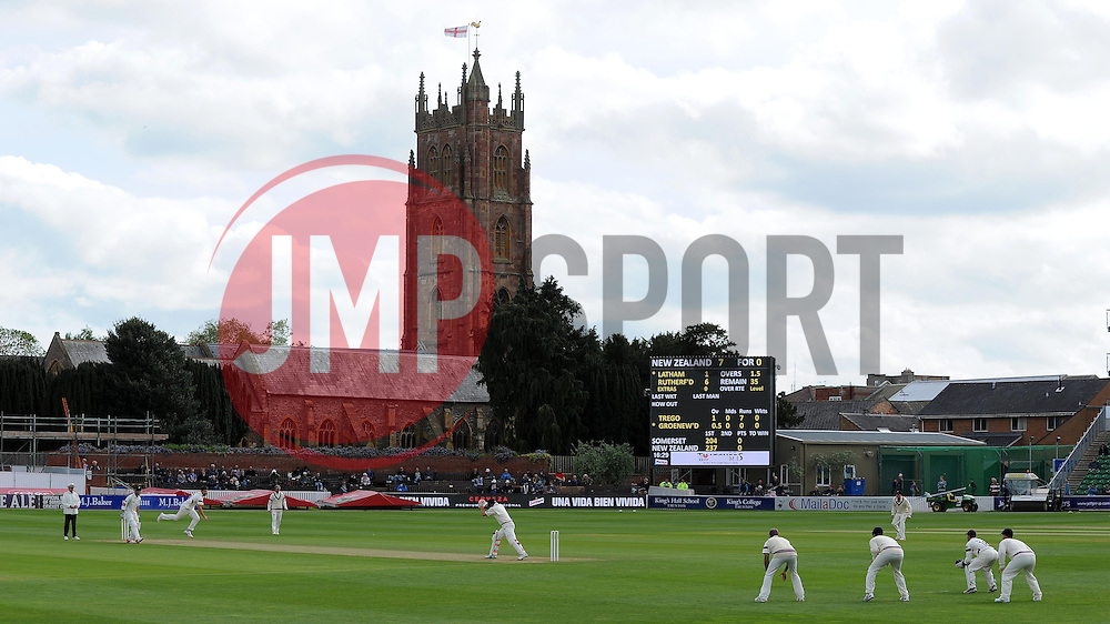 General view of the County Ground Photo mandatory by-line: Harry Trump/JMP - Mobile: 07966 386802 - 09/05/15 - SPORT - CRICKET - Somerset v New Zealand - Day 2- The County Ground, Taunton, England.