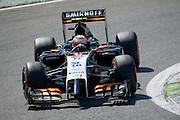 September 4-7, 2014 : Italian Formula One Grand Prix - Sergio Perez (MEX), Force India-Mercedes
