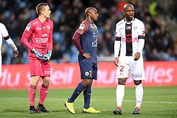 February 17, 2018 - Montpellier, France - 19 Souleymane CAMARA (mon) - 02 Jordan IKOKO (gui) - 01 Karl Johan JOHNSSON  (Credit Image: © Panoramic via ZUMA Press)