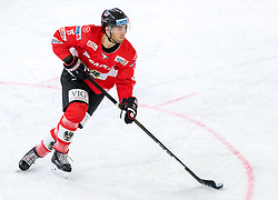 12.04.2018, Tiroler Wasserkraft Arena, Innsbruck, AUT, Eishockey Testspiel, Österreich vs Italien, während dem Eishockey Testspiel Österreich vs Italien am Donnerstag, 12. April 2018 in Innsbruck, im Bild Bernd Wolf (AUT) // during the International Icehockey Friendly match between Austria and Italy at the Tiroler Wasserkraft Arena in Innsbruck, Austria on 2018/04/12. EXPA Pictures © 2018, PhotoCredit: EXPA/ Jakob Gruber