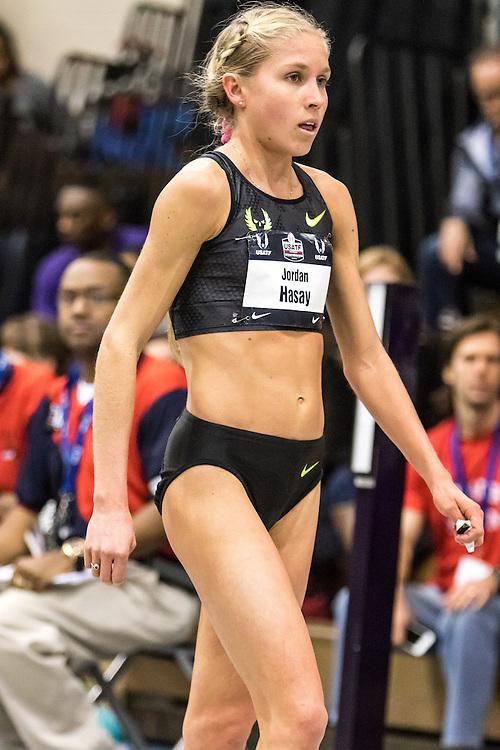 USATF Indoor Track & Field Championships: Jordan Hasay, Nike Oregon Project