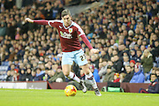 Burnley defender Stephen Ward  during the Sky Bet Championship match between Burnley and Derby County at Turf Moor, Burnley, England on 25 January 2016. Photo by Simon Davies.