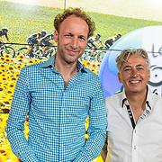 NLD/Hilversum/20170622 - Perspresentatie NOS Tour de France, Gerben van 't Hof en Robbert Meeder