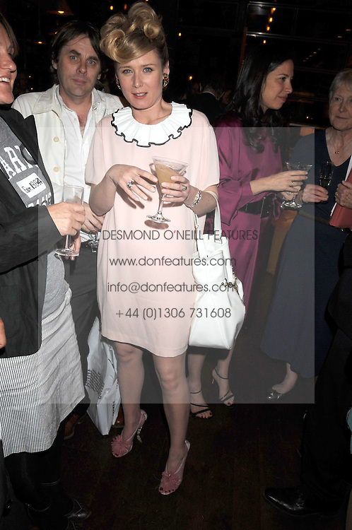 Singer ROISIN MURPHY at a party and exclusive private view of 'Naked Portrait With Reflection&quot; by Lucian Freud hosted by Christie's held at 17 Berkeley Street, London on 17th June 2008.<br />