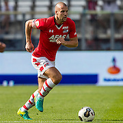 ALKMAAR - 28-08-2016, AZ - NEC, AFAS Stadion, 2-0, AZ speler Ron Vlaar