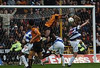 Fotball<br /> Championship England 2004/05<br /> Wolverhampton Wanderers v Queens Park Rangers<br /> 23. oktober 2004<br /> Foto: Digitalsport<br /> NORWAY ONLY<br /> CARL CORT SCORES WOLVES 1ST GOAL