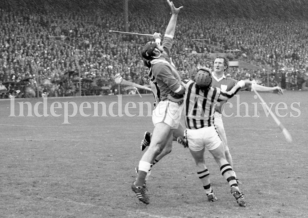 Kilkenny v Limerick<br /> All-Ireland Hurling Final at Croke Park. 1/9/74<br /> (Part of the Independent Newspapers Ireland/NLI collection.)
