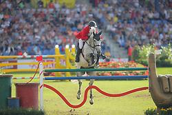 Beerbaum, Ludger (GER), Chiara<br /> Aachen - Europameisterschaften 2015<br /> Springen 1. Qualifikation Teamwertung<br /> © www.sportfotos-lafrentz.de/Stefan Lafrentz