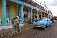 Street in Bahia Honda, Artemisa, Cuba.