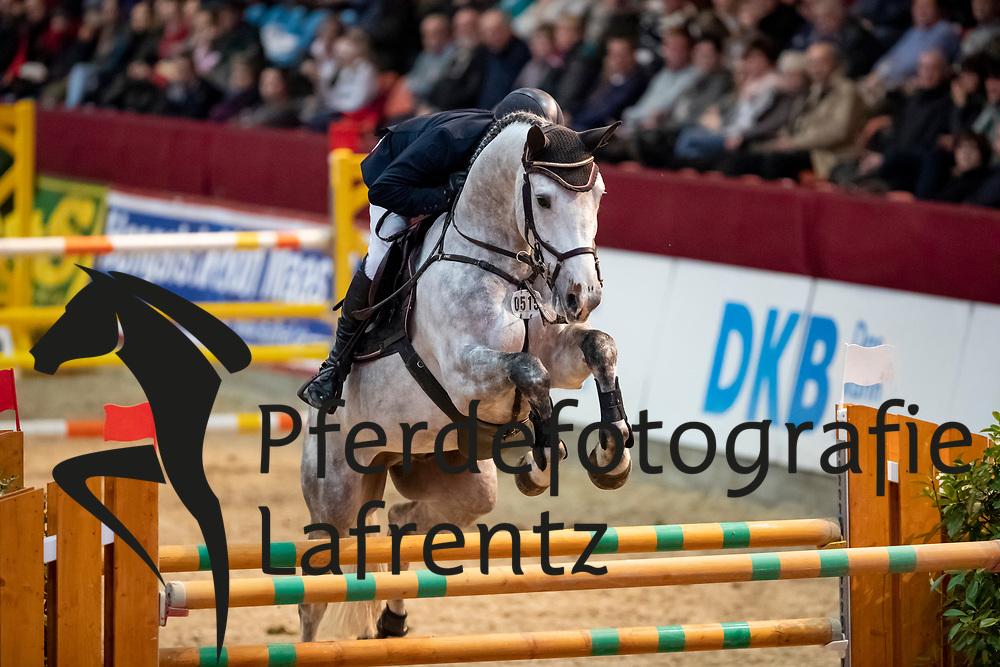 AROMAA Niclas (FIN), My Boy 26<br /> Neustadt-Dosse - CSI 2019<br /> 2. Qualifikation Youngster Tour für 7 und 8 jährige Pferde<br /> 11. Januar 2019<br /> © www.sportfotos-lafrentz.de/Stefan Lafrentz