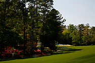 13th hole, Augusta National Golf Course, Georgia, USA. taken on a training day<br /> Photo credit:  Mark Newcombe / www.visionsingolf.com
