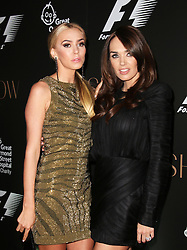 Petra Stunt; Tamara Ecclestone, F1 Party in aid of Great Ormond Street Hospital Children's Charity, Victoria and Albert Museum, London UK, 02 July 2014, Photo by Richard Goldschmidt © Licensed to London News Pictures. 03/07/2014