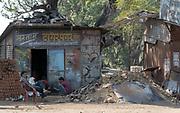 Scene from Mandla, Madhya Pradesh, India.