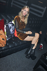 MARY CHARTERIS at a party hosted by Rimmel London to celebrate the 10 year partnership with Kate Moss held at Battersea Power Station, London SW8 on 15th September 2011.