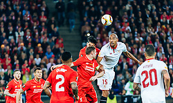 18.05.2016, St. Jakob Park, Basel, SUI, UEFA EL, FC Liverpool vs Sevilla FC, Finale, im Bild James Milner (FC Liverpool), Steven N Zonzi (FC Sevilla) // James Milner (FC Liverpool) Steven N Zonzi (FC Sevilla) during the Final Match of the UEFA Europaleague between FC Liverpool and Sevilla FC at the St. Jakob Park in Basel, Switzerland on 2016/05/18. EXPA Pictures © 2016, PhotoCredit: EXPA/ JFK