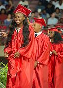Graduation ceremonies Yates High School at Texas Southern University, May 27, 2016