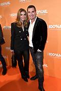 100% NL Awards 2018 in Panama, Amsterdam.<br /> <br /> Op de foto:  Jeroen van der Boom en partner Dany de Wit