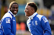 Demarai Gray during the Sky Bet Championship match between Birmingham City and Norwich City at St Andrews, Birmingham, England on 31 January 2015. Photo by Alan Franklin.