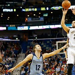 03-12-2014 Memphis Grizzlies at New Orleans Pelicans