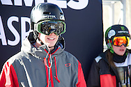 Alex Schlopy during Men's Ski Slopestyle Practice at the 2013 X Games Aspen at Buttermilk Mountain in Aspen, CO.  Brett Wilhelm/ESPN