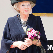 NLD/Putten/20140509 - Prinses Beatrix opent woonzorgcentrum De Schauw in Putten, Prinses Beatrix <br /> <br /> Princess Beatrix opens a new residential care centre for elderly people de Schauw in a town called Putten the Netherlands<br /> <br /> <br /> Princess Beatrix opens a new residential care centre for elderly people de Schauw in a town called Putten the Netherlands, <br /> <br /> Princess Beatrix opens a new residential care centre for elderly people de Schauw in a town called Putten the Netherlands