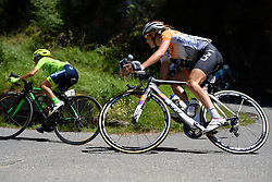 Shara Gillow (Rabo Liv) on the descent to Tirano at Giro Rosa 2016 - Stage 5. A 77.5 km road race from Grosio to Tirano, Italy on July 6th 2016.