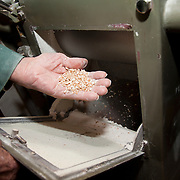 Flour mill machine,  PRN the Livradois-Forez, St. Dier d'Auvergne, Auvergne, France