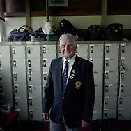 'Jimmy Boyd, Gretna Bowling Club, Gretna, 2013' from 'A Fine Line - Exploring Scotland's Border with England' by Colin McPherson.<br /> <br /> Gretna Bowling Club, located in the small Scottish border town, plays competitive fixtures only against other Scottish teams as the rues of the sport differ on either side of the border.<br /> <br /> The project was a one-year exploration of the border between the two historic nations, as seen from the Scottish side of the frontier.<br /> <br /> Colin McPherson is a photographer and visual artist based in north west England. In 2012 he was one of the founding members of Document Scotland, a collective of four Scottish documentary photographers brought together by a common vision to witness and photograph the important and diverse stories within Scotland at one of the most important times in our nation's history.<br /> <br /> 'A Fine Line' will be shown for the first time in public at Impressions Gallery, Bradford, from July 1 until September 27, 2014 to coincide with the Scottish Independence referendum.